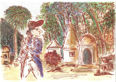 Britisher Ghost, Park Street Cemetery Kolkata