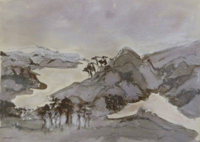 Hills and lakes Uttarakhand