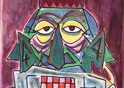 Mask depression